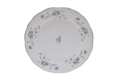 Johann Haviland Blue Garland Bavaria Germany 6.25' Bread and Butter Plate
