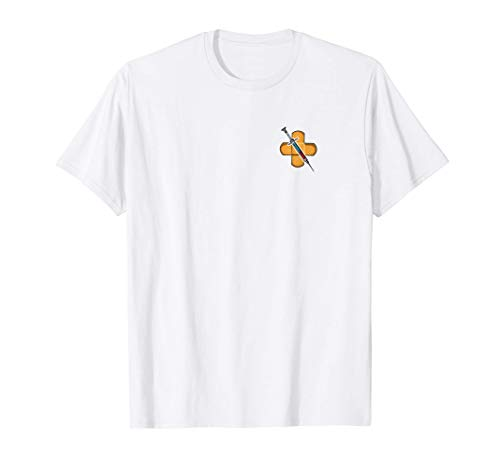 Arzthelferin Pflaster Und Spritze Krankenschwester Praxis T-Shirt