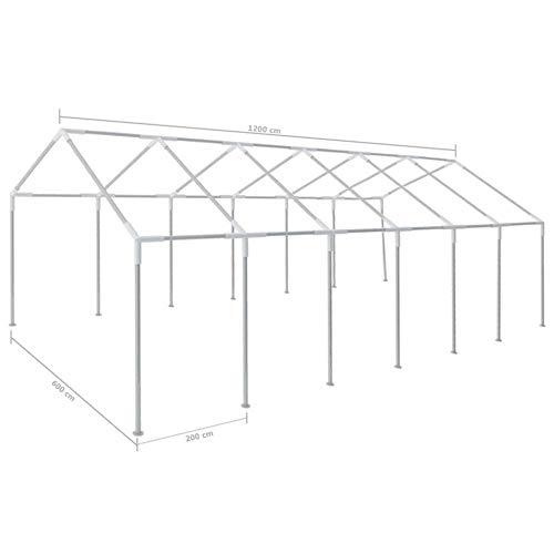 ITAPO White Party Tent 12 x 6 m