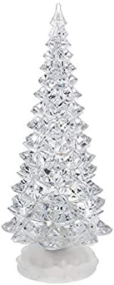 Ganz Light Up Christmas Light Up Swirling Glitter Tree Large