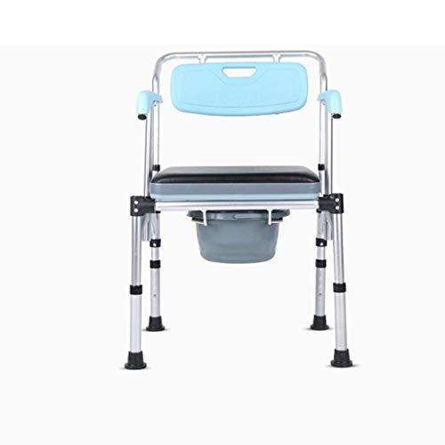 Kommode Stuhl Kommode Liner Klappbett Kommode, Leichte Ältere Senioren Behinderte Töpfchen Stuhl, Tragbare Badestuhl, Kommode Stuhl Mit Pfanne