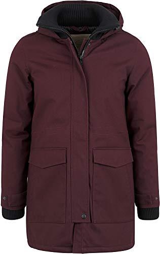 FORVERT Jackets Aniak Frauen Winterjacke Plum M 100% Baumwolle Basics