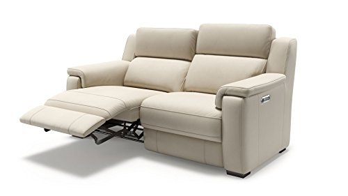 Ledercouch 2-Sitzer modern Funktionssofa Relaxouch Ledersofa 2er