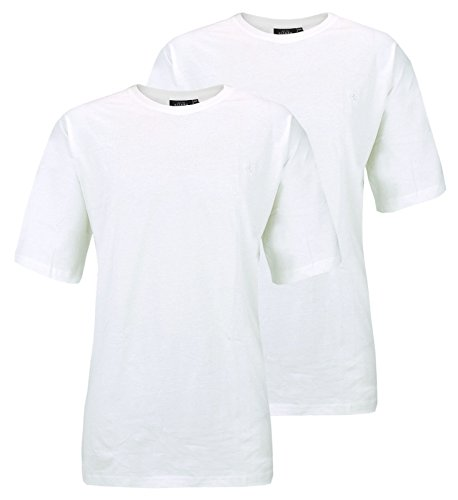 Kitaro 2er Pack T-Shirts Shirt Tee-Shirt weiss V-Ausschnitt 68902 600 HW16-KT | bis 8XL ÜBERGRÖSSE! Größen 7XL