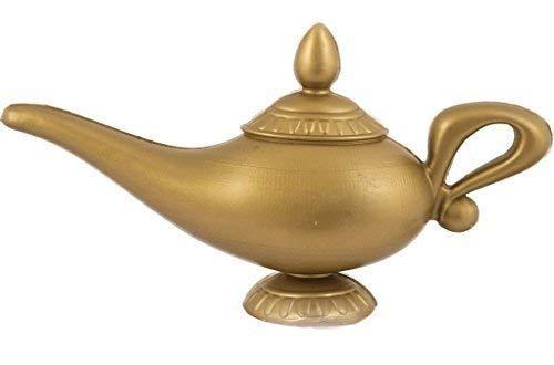 Fancy Me pour Hommes Femmes Génie Jasmin Arabe Aladdin Lampe Costume Déguisement Accessoire - 23x12cm