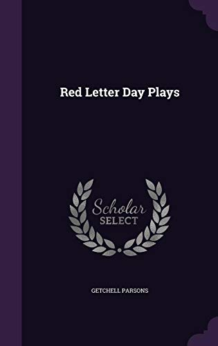 Red Letter Day Plays