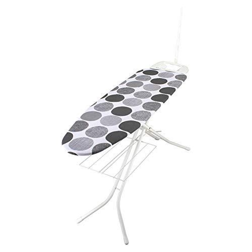 [ ロレッツ ] RORETS スタンド式 アイロン台 長さ120cm リブレット 高さ調節可 折りたたみ 9460 Libretto Ironing Board (White) Dots Grey スリム 薄型 おしゃれ 北欧 [並行輸入品]