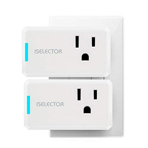 ISELECTOR Mini Smart Plug (2-pack)