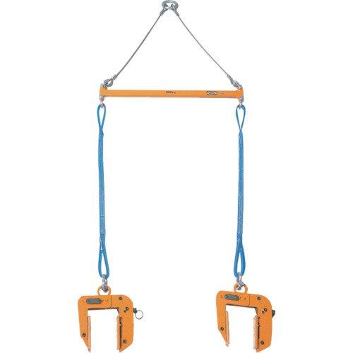 スーパーツール(SUPERTOOL) パネル・木質梁吊クランプ天秤セット(2×4パネル吊天秤セット) PTC200S