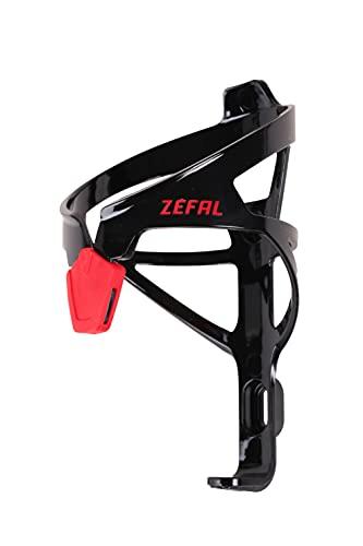 ZEFAL Pulse A2 - Porte-bidon vélo très léger - 26g Mixte Adulte, Noir/rouge, Taille unique