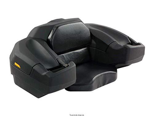 S-Line - Maleta para Quad de 75 l, color negro mate, tamaño: 107x 65x 45cm, 75 l, 12kg