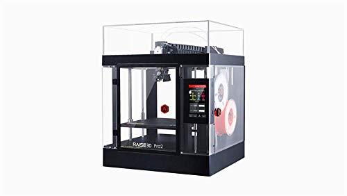 Raise3D Pro2 Imprimante 3D, Double extrudeuse, entièrement fermée