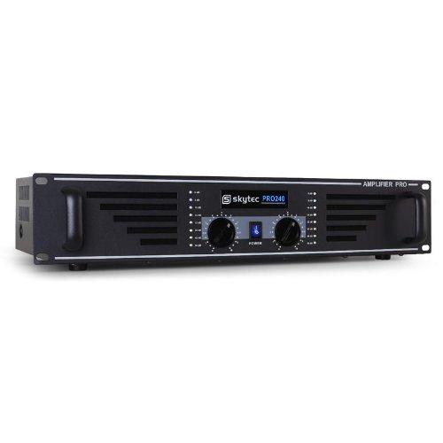 Skytec PA-240 Amplificador PA 480W Tecnología MOSFET