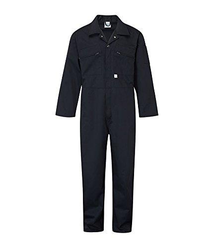 Castle Clothing, 366, Tuta da lavoro con cerniera anteriore, Blu (navy), 91,4 cm