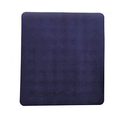Vetrineinrete Letto matertassino gonfiabile materasso floccato casa campeggio doppio singolo (Doppio 203x188x22 cm) M35