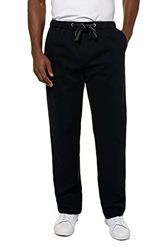 JP 1880 Herren große Größen Übergrößen Menswear L-8XL Hose, Elastikbund, Straight Fit, bis Gr. 10XL dunkel Marine 5XL 720251 76-5XL