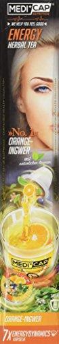 MediCap Energy No. 1 Alpenkräuter Tee Dynamics - Orange-Ingwer, 1er Pack (1 x 28 g)