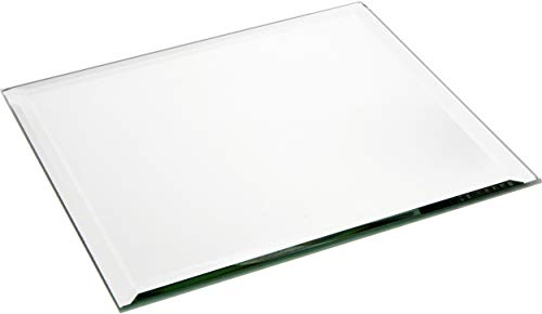 Plymor Square 5mm Beveled Glass Mirror, 18 inch x 18 inch