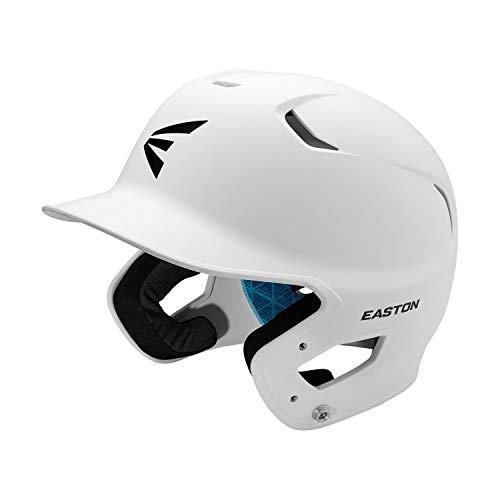 EASTON Z5 2.0 Baseball Batting Helmet, Senior, Matte White