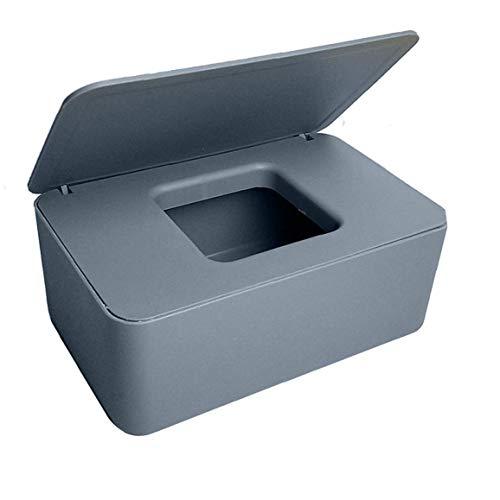 DierCosy Tejido húmedo Caja con Tapa del dispensador de toallitas de bebé WC Toallitas titulares de Tejido Duradero a Prueba de Agua para la Oficina en casa