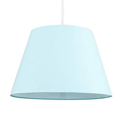 lámpara Colgante para Sala de Estar, Moderno Gris y Naranja 12 Colgante de Techo cónico/lámpara de Mesa Pantalla de luz