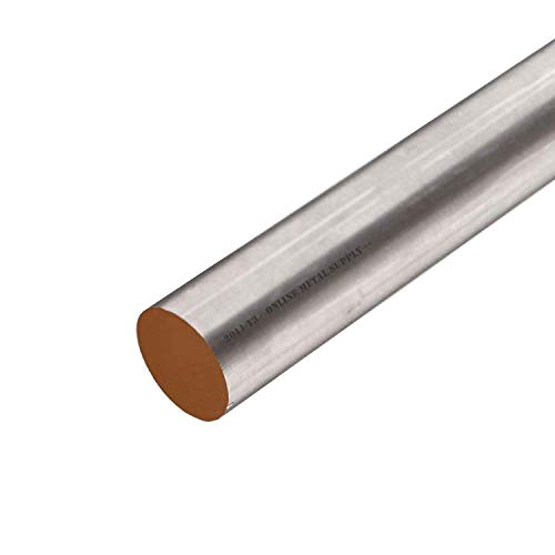 Online Metal Supply 2011-T3 Aluminum Round Rod, 1.500 (1-1/2 inch) x 36 inches