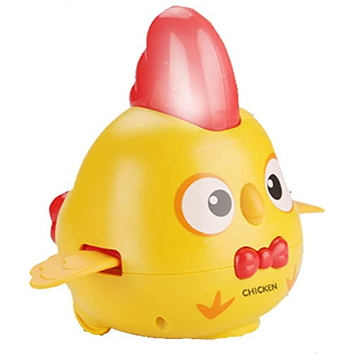 CeFoney Juguetes musicales para bebés para niños, universal, para caminar, pollo, con luz y música, juguete eléctrico de pollo, el mejor regalo para niños de 1 2 3 años de edad, niños y niñas