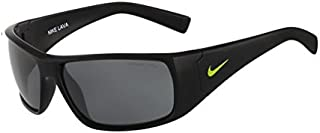 Grey Lens Lava Sunglasses, Black/Volt