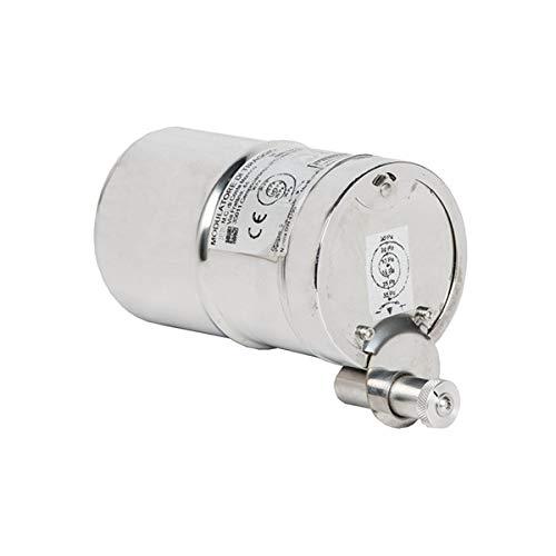 Transformador de tiro para estufas de pellets, diámetro 80 cm, regulador de flujo para estufas y chimeneas