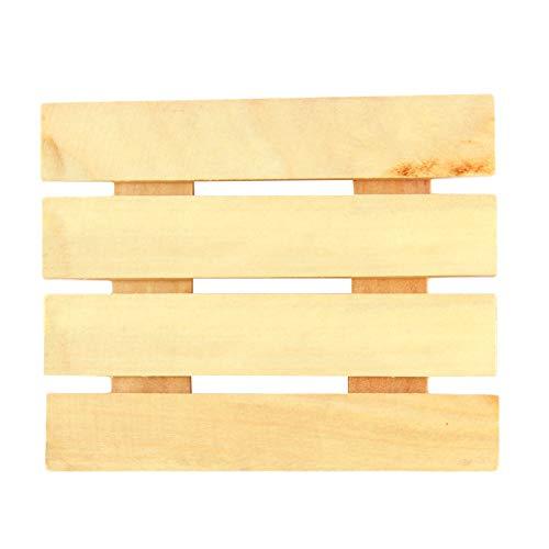 haotu Seifentablett, Seifenregal aus Holz Badezimmer Duschpaneel Badezimmer
