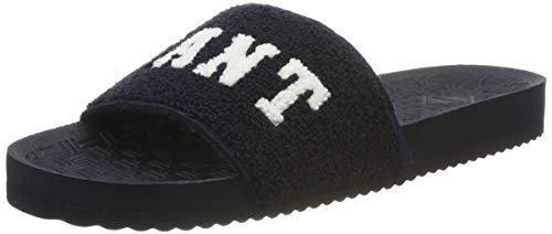 GANT Footwear Damen Haley Pantoletten, Blau (Marine G69), 39 EU