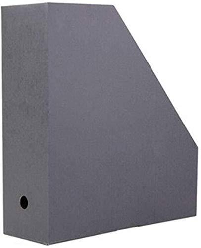 Bestand Kasten Book Stand Desktop Storage Box Data Frame Extractable Gat Ontwerp Gemakkelijk Foldingbookends Snelle Access(10X28X31.5CM) Home Office Meubels