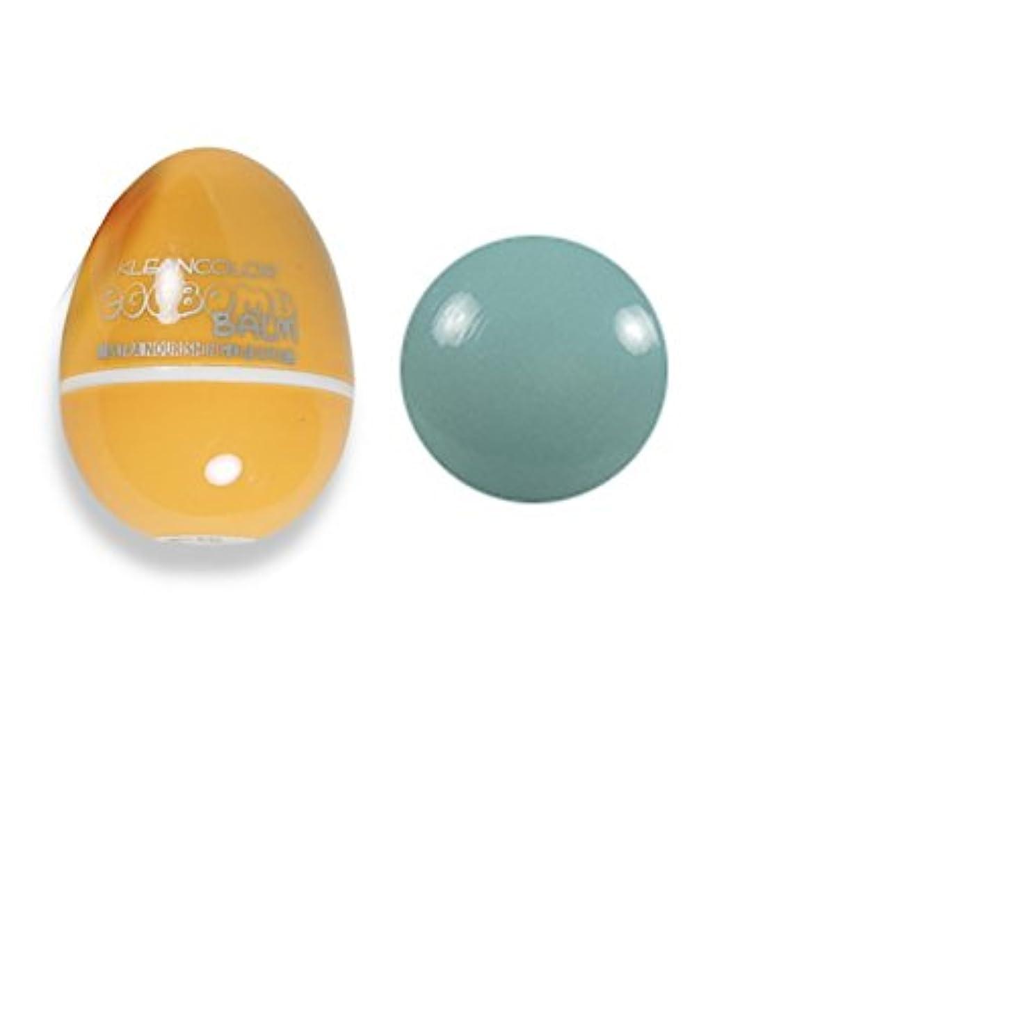 傷つきやすい是正する飲食店(3 Pack) KLEANCOLOR Eggbomb Balm - Poached (並行輸入品)