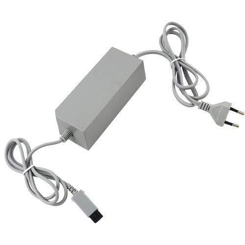 OSTENT Sostituzione del tipo di alimentatore dell'adattatore a muro di tipo UE compatibile per il videogioco per console Nintendo Wii