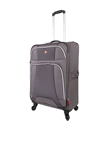 Monte Leone 29' Spinner Suitcase Color: Gray