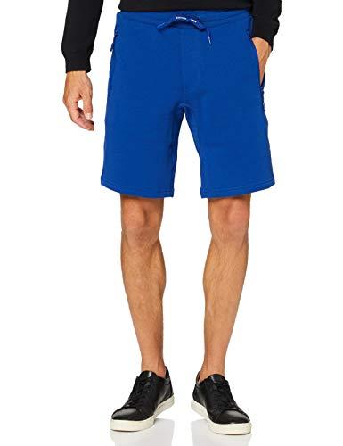 Armani Exchange Herren French Terry Shorts, Blau (Sodalite Blue 1511), W(Herstellergröße: XL)