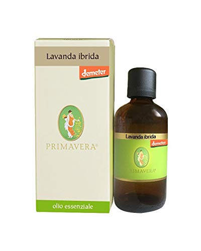 Flora Olio Essenziale di Lavanda Ibrida Bio Demeter - 100 ml