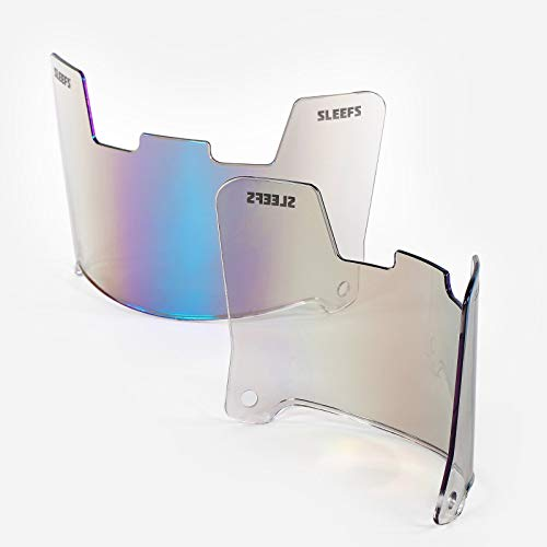 SLEEFS Bifröst Clear Rainbow Helmet Eye-Shield Visor