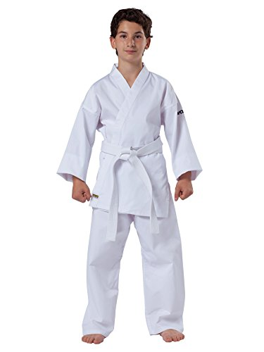 Kwon Karate Basic – Kampfsport-Anzug Kinder, Karate Basic, Farbe 47, 150 UK