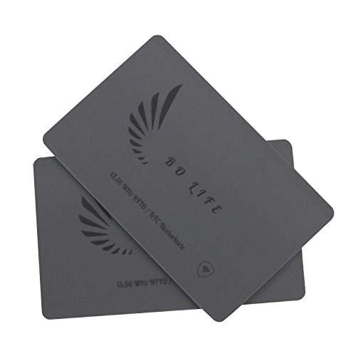 Sie wollen Ihre Daten schützen ? Mit der super dünnen RFID Blocker Karte/NFC Schutzkarte haben sie den optimalen Schutz für Ihr Portmonnaie.