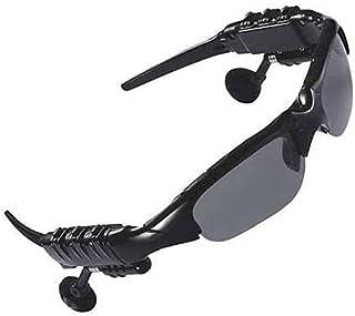 نظارة شمسية وسماعات رأس تعمل لاسلكية 4 جيجابايت تعمل بالبلوتوث لموبايلات ايفون وسامسونج لركوب الدراجات