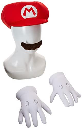 Nintendo Super Mario Brothers Mario Child Accessory Kit, One Size Child