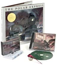 The Polar Express Deluxe Gift Set Include Anniversary Hardcover book, bell, and Audio CD