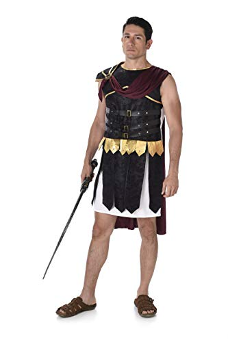 Karnevalskostüm römischer Legionär, 82062, für Männer, mehrfarbig, XL
