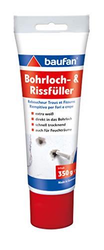 Baufan 4016215101421 Bohrloch- und Rissfüller Spachtelmasse, weiß