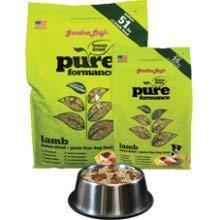 Grandma Lucys Pureformance Lamb Grain Free Dog Food 10 lb Bag