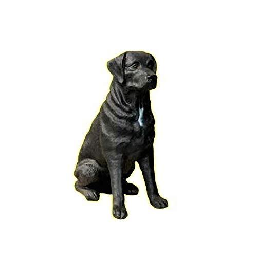 XL Premium Labrador in lebensgross 70cm hoch Hund Garten Deko Figur inkl. Spedition