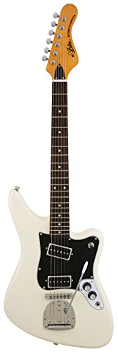 Aria Guitarra Eléctrica Retro BLANCO 1532 SB