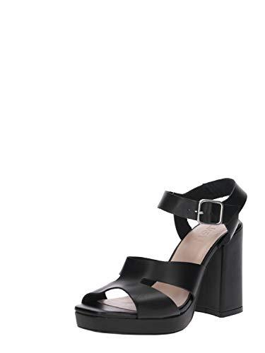 Zign Damen Pumps Heeled Sandals schwarz41