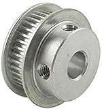 Zxwzzz 2pcs MXL-50T Polea de Tiempo 11 mm Ancho de la Correa Polea de Engranajes 5/6/6/10/12/14/17mm Dia del Orificio Interno.Poleas de la Correa Dentada de la aleación de Aluminio (Size : 14mm)
